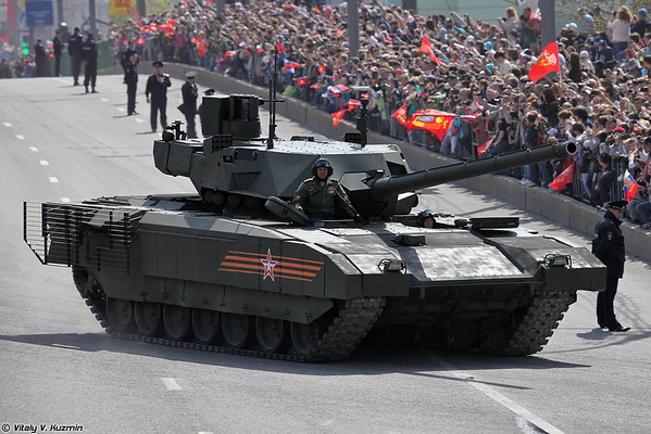 Танк Т-14 объект 148 Армата (Main battle tank T-14 object 148 Armata)
