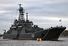 Baltic Fleet ships in Saint Petersburg :