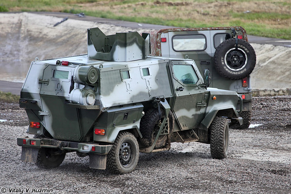 Бронеавтомобиль Скорпион ЛША Б (Skorpion LShA B armoured vehicle)