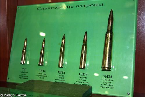 Снайперские патроны (Sniper rounds)