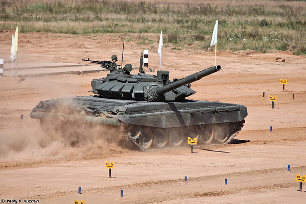 Т-72Б3 (First public demonstration of new T-72B3)
