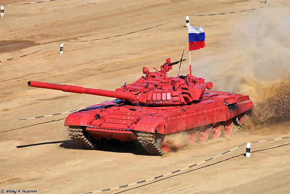 T-72B of Russian team
