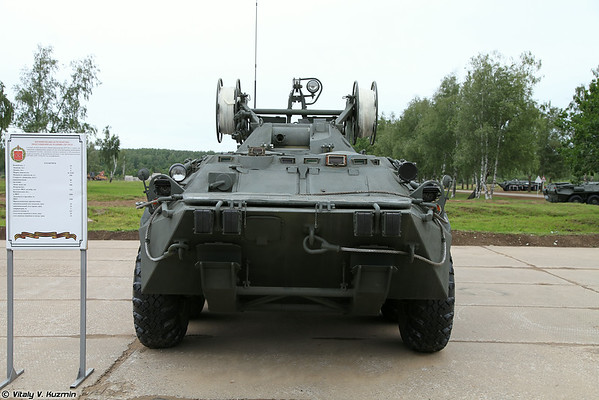 БРЭМ-К (BREM-K wheeled armoured recovery vehicle)