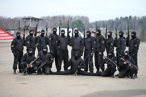 Военнослужащие 604-го ЦСН ВВ МВД России (Operators from 604th Special Purpose Center (TsSN Vityaz) of Internal troops)