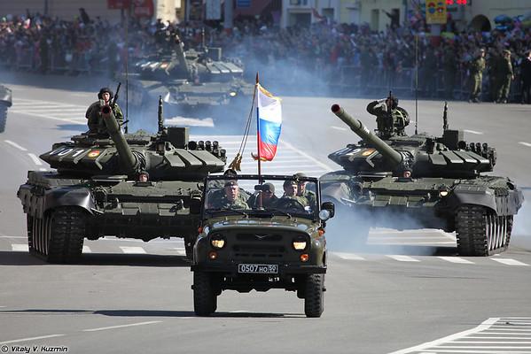 2014 Victory Day Parade in Nizhny Novgorod