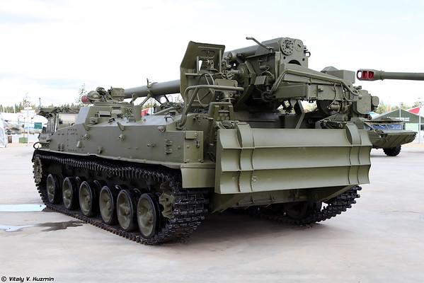 152-mm automotora arma 2S5 jacinto-C [152 milímetros arma automotora 2S5 Giatsint-S)