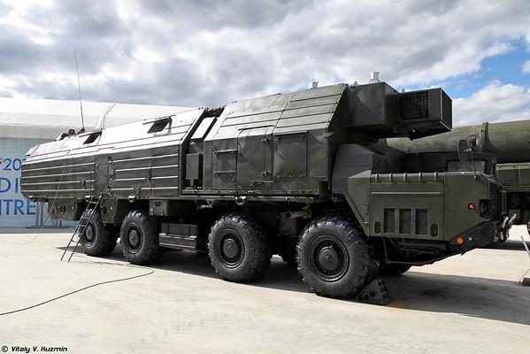 MOBD 15V148 [dever do combate apoio veículo 15V148 para Topol ICBM)
