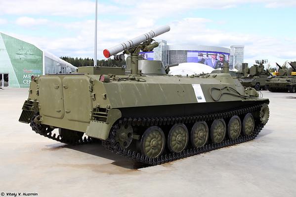 BM 9P149 ATGM 9K114 Shturm-S [9P149 veículo lançador de 9K114 Shturm-S ATGM)