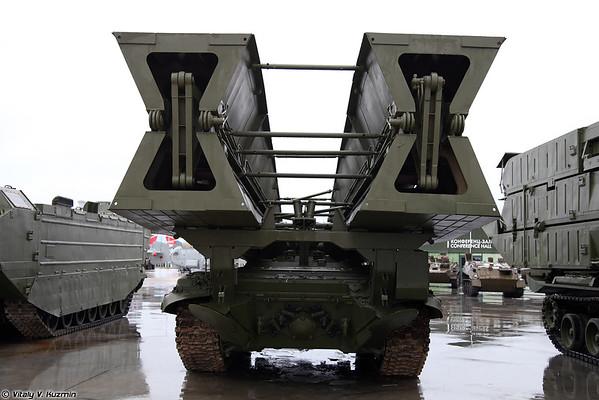 Veículo blindado lançou ponte MTU-90M [MTU-90M blindado ponte lançou-veículo)