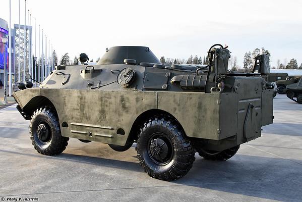 Máquina radiológica e química reconhecimento BRDM-2px [BRDM-2RKh NBC veículo de reconhecimento)