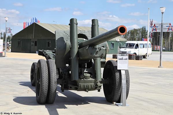 arma de amostra gabinete 1931/37 anos de A-19 [arma 122 milímetros corps M1931 / 37 A-19)