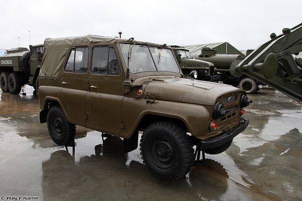 veículo de reconhecimento Chemical UAZ-469RH [UAZ-469RKh NBC veículo de reconhecimento)