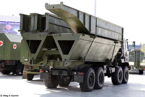 Ponte kompelks mecanizadas MMK [MMK sistema de ponte lançada do veículo)