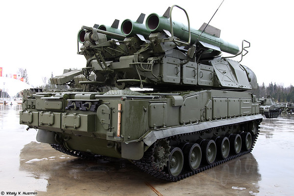 9A310M1-2 9M317 míssil do ADMS Buk-M1-2 [9A310M1-2 TELAR do sistema de Buk-M1-2)