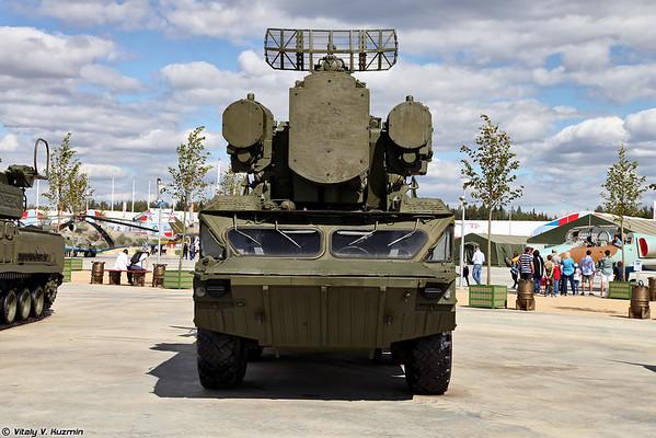 Combate veículo 9A33BM3 SAM Osa-AKM [9A33BM3 TELAR do sistema de Osa-AKM)