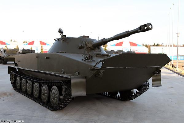 Luz PT-76B tanque anfíbio [Light tanque anfíbio PT-76B)