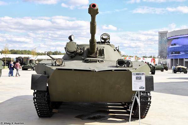 luz piloto anfíbio tanque PT-76M [luz Experimental anfíbio tanque PT-76M)