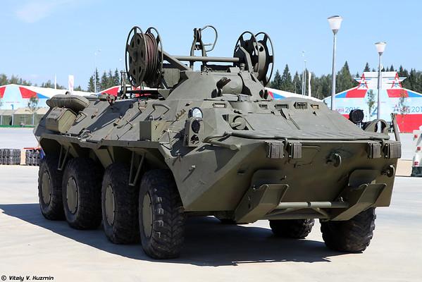 Brem-K [Brem-K rodas veículo de recuperação blindado)