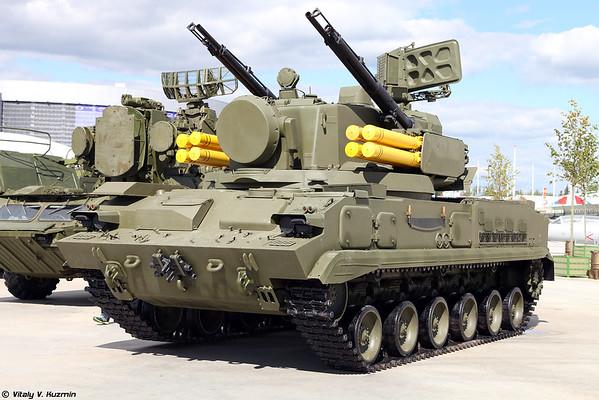 ZSU 2C6 ZRPK 2K22 Tunguska [2S6 TELAR de 2K22 sistema de Tunguska)
