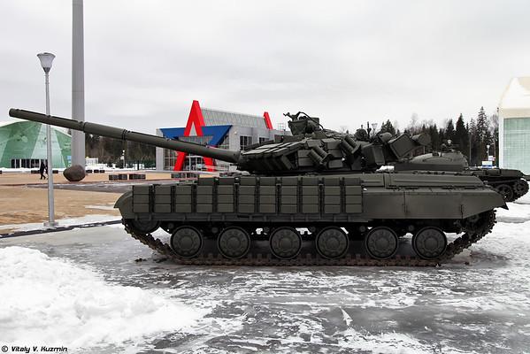 amostra T-64BV de 1987. [Mod.1987 T-64BV)
