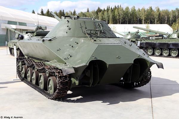 luz piloto do tanque anfíbio K-90 [luz Experimental tanque anfíbio K-90)