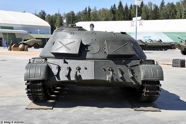 SU-100M objeto 416 [SU-100M Objeto 416 artilharia experimental auto-propulsão)