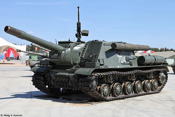 ISU-152M [ISU-152M artilharia autopropulsada)