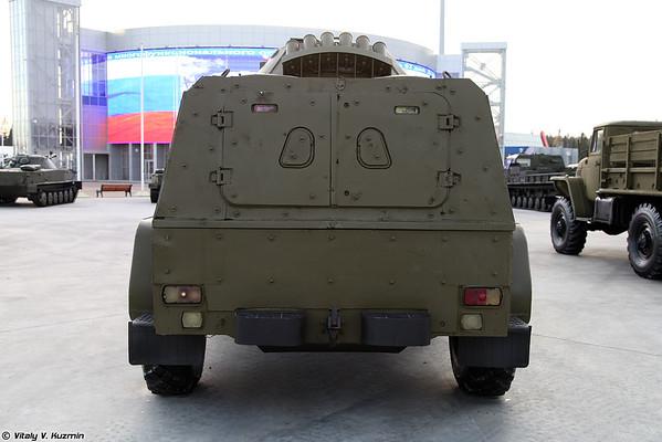 GAZ-39371 Vodnik com o livro adicional [GAZ-39371 Vodnik com uma armadura adicional)