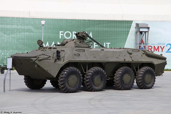 BTR-70 torre com MA-7 [BTR-70 com MA-7 turret)