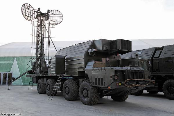troposfera estação de comunicação 15V75 [15V75 veículo sinal para Topol ICBM)