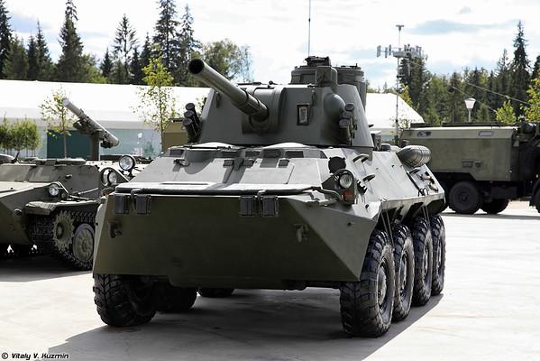120 mm arma de artilharia automotora 2S23 Nona-SVK [120 milímetros arma automotora 2S23 Nona-SVK)