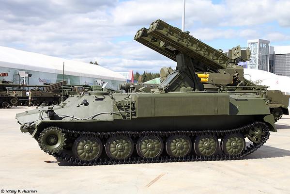 viatura de combate 9K35M3 SAM Strela-10M3 [9K35M3 Strela-10M3)
