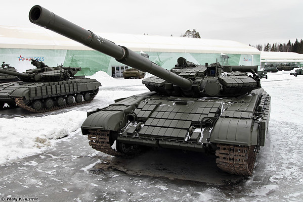 Comandando T-64BVK [T-64BVK versão comandante)