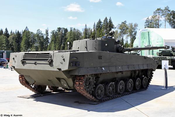luz piloto do tanque anfíbio Objeto 685 [luz Experimental tanque anfíbio objeto 685)